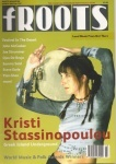 Kristi Stassinopoulou - fRoots feature - March 2003